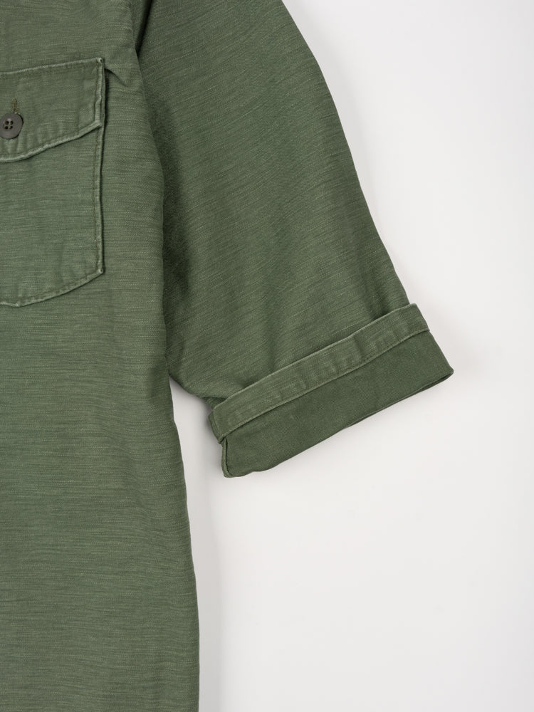 US Army 3/4 Sleeve Shirt Green Used