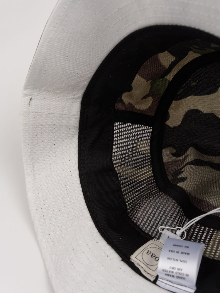 bucket hat one, camo, paa, interior