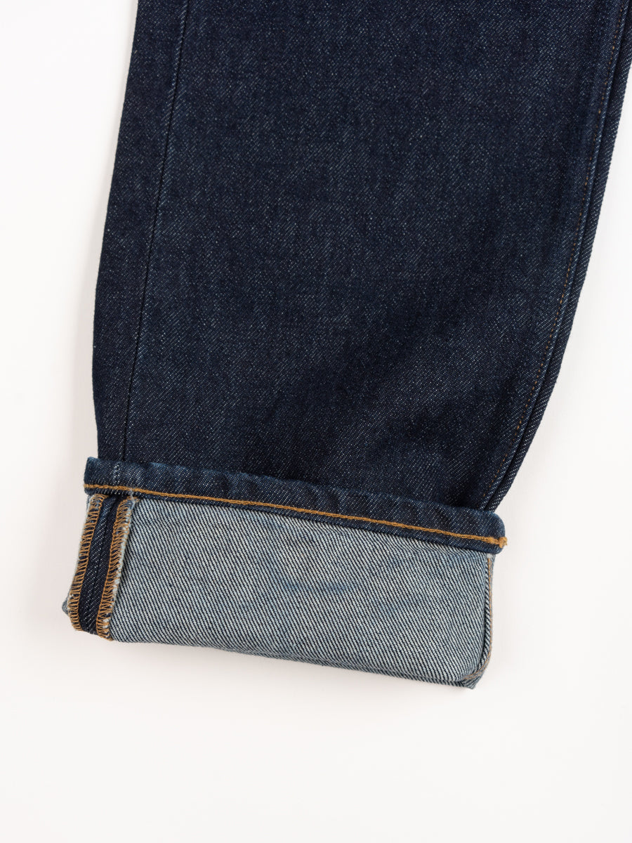 norse slim denim, indigo, change stitch hem, norse projects