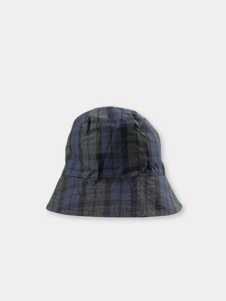 bucket hat, blackwatch, plaid, nyco cloth, engineered garments