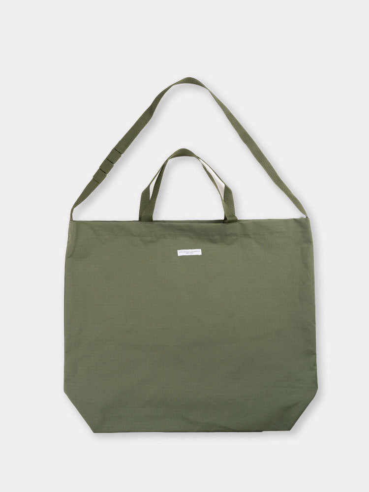 carry all, tote bag, olive colour, cotton ripstop, engineered garments