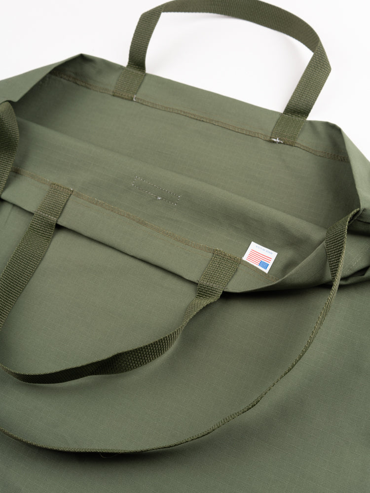 Carry All Tote Olive Cotton Ripstop