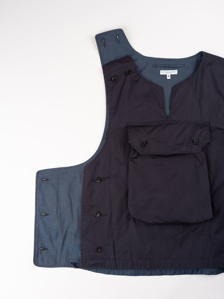 Cover Vest Dark Navy Highcount Twill