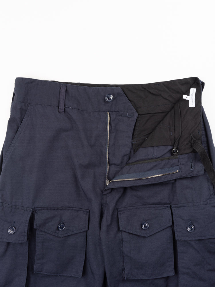 FA Pant Dark Navy Cotton Ripstop