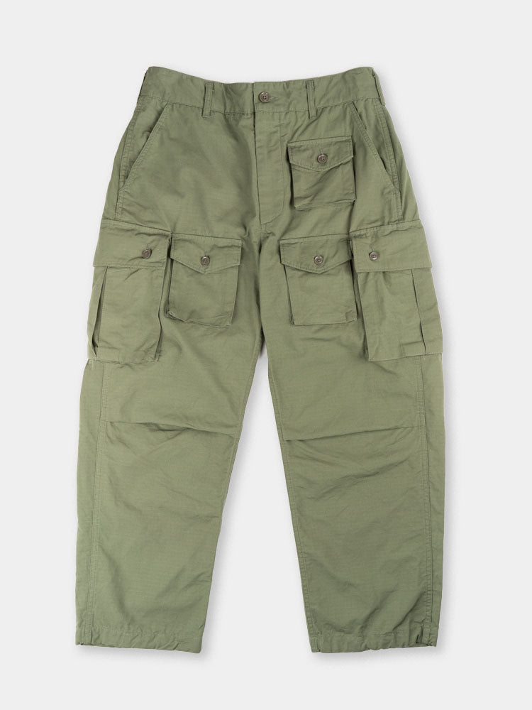 FA pant, cargo pant, olive, cotton ripstop, engineered garments