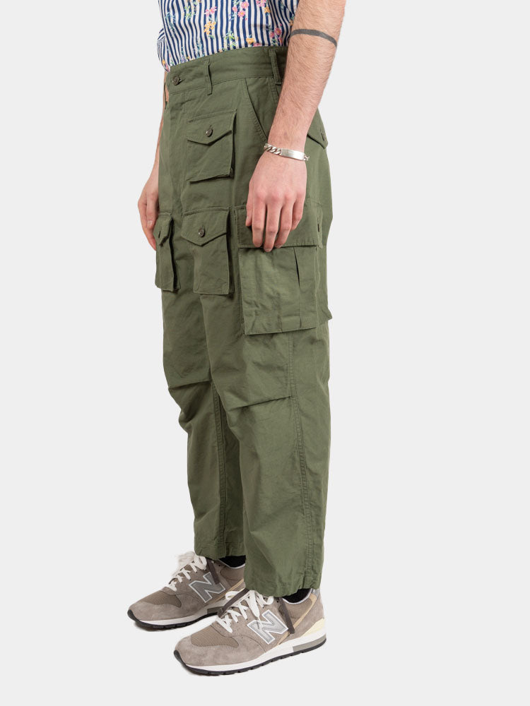 FA Pant Olive Cotton Ripstop