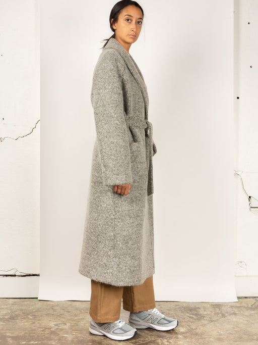 Shawl Collar coat, olive, Le 17 septembre