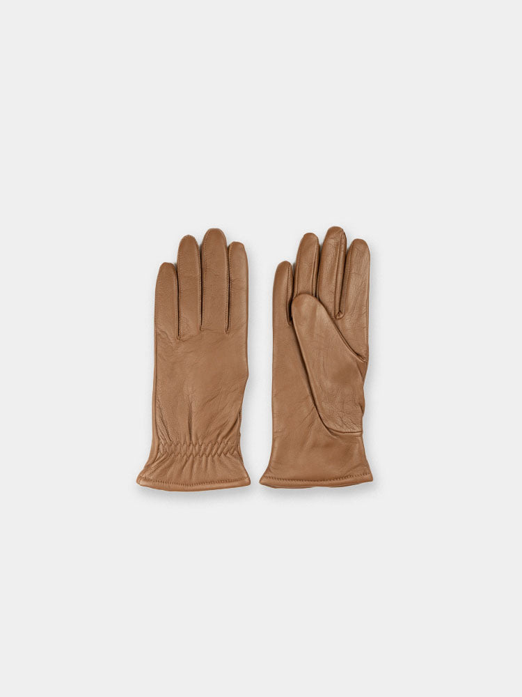 asa, brown leather gloves, norse projects