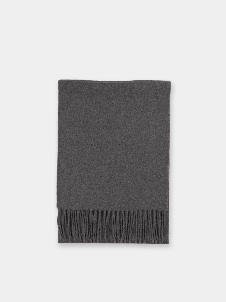 merino wool, scarf, grey, norse projects