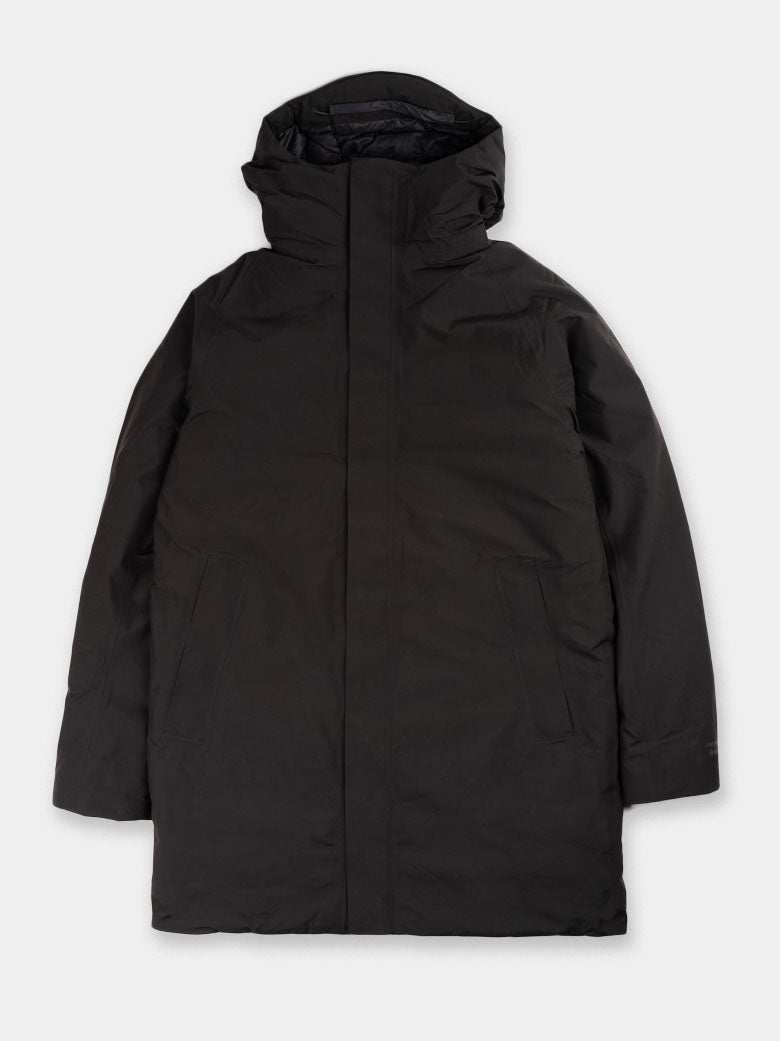 Rokkvi 5.0, black, gore tex, norse projects, front view
