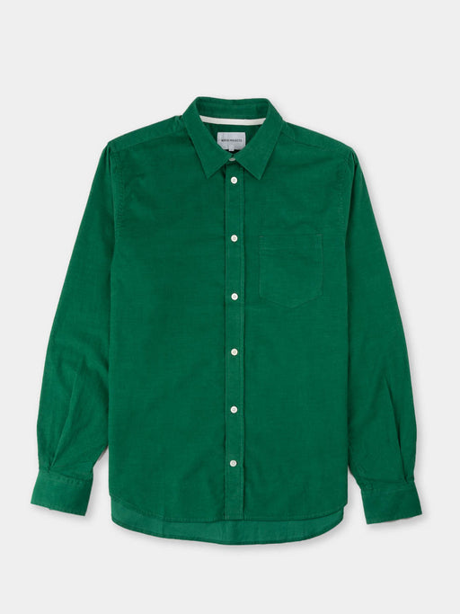 Osvald Corduroy, sporting green, norse projects