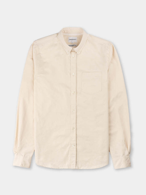 anton oxford, denim, ecru, norse projects