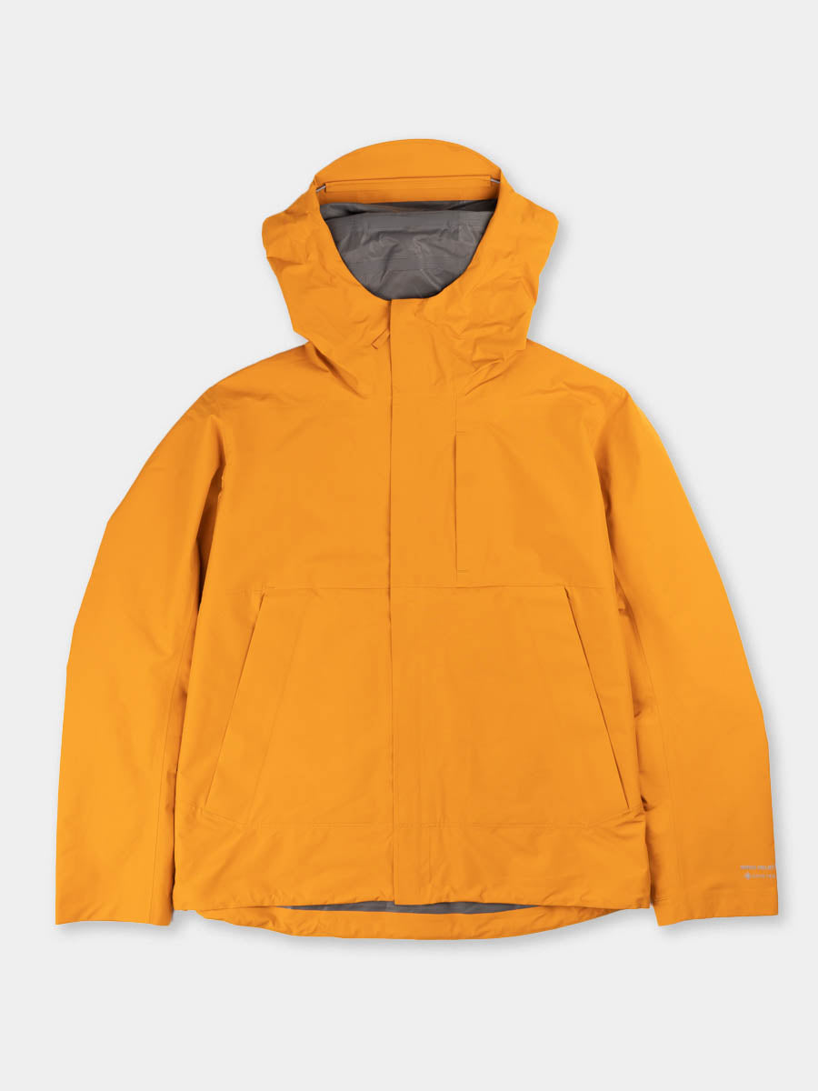Fyn shell gore tex 2.0, cadmium orange, norse projects