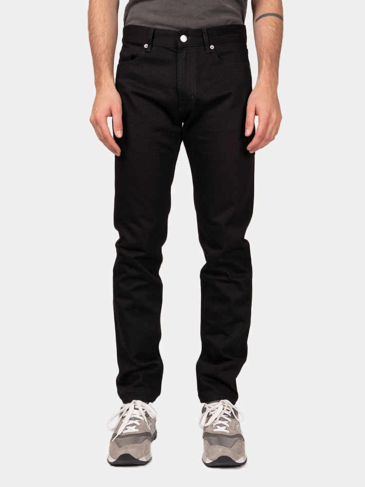 Norse Slim Denim Black