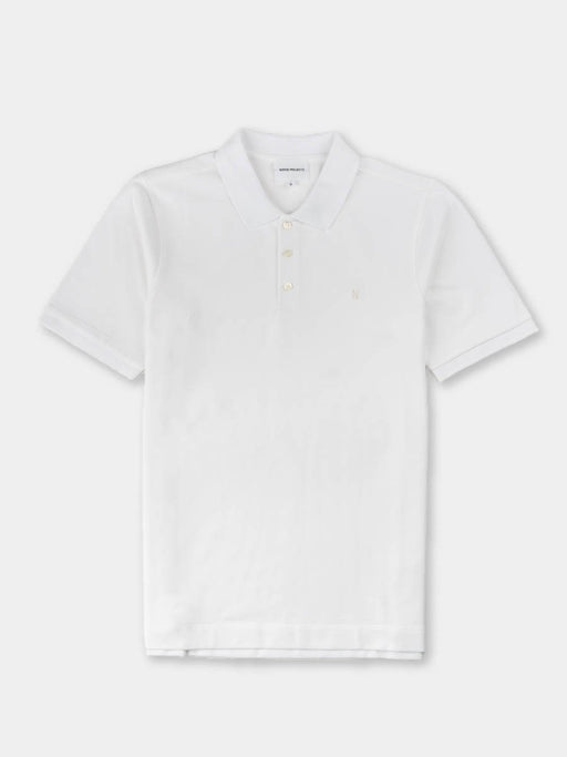 theis coolmax pique, polo, white, norse projects