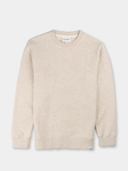 vagn classic crew, oatmeal, crewneck sweatshirt, norse projects