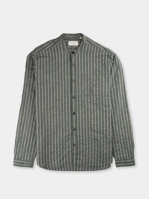 Grandad Shirt Marbury Green