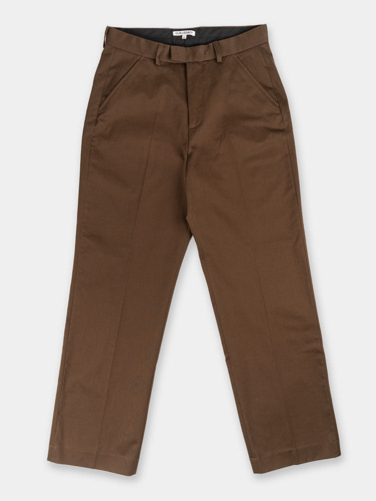 chino 24, trouser, mens, brown, our legacy