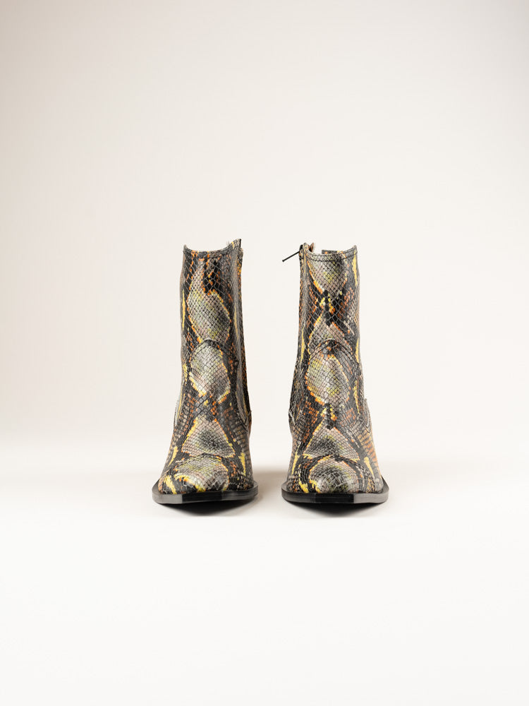 Western Wave Boots Mulitcolor