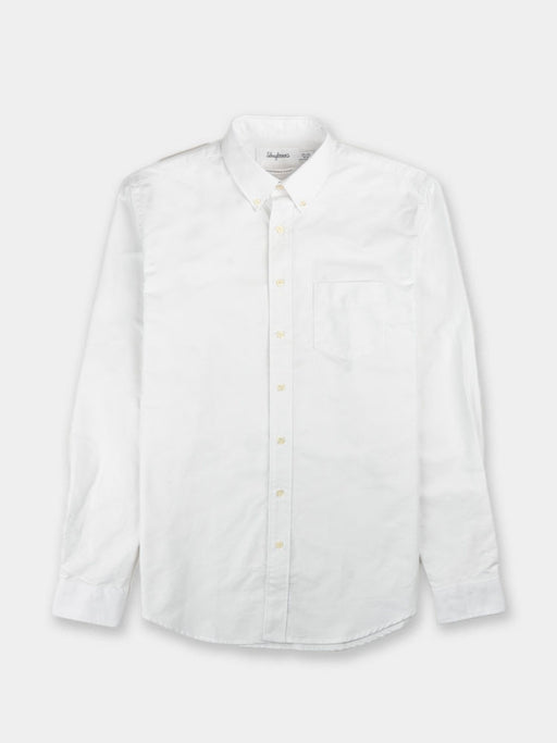 mens shirt, oxford one, white, schnayderman's