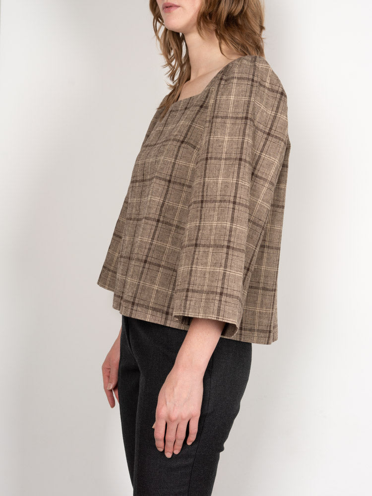 Williams Blouse Sycamore Plaid