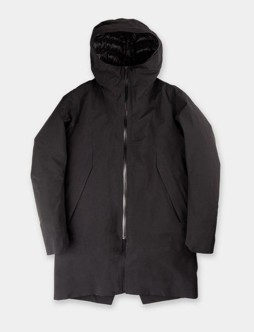 parka, gore tex, black, down, monitor, veilance