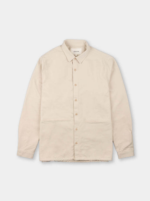 armadale overshirt, off white, kestin