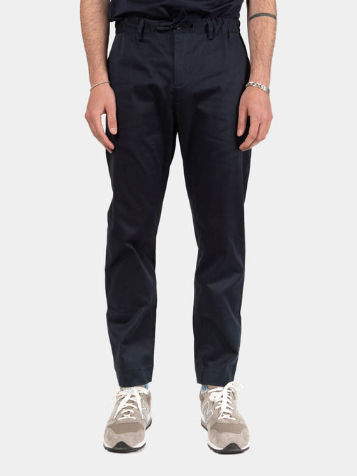 inverness stretch trouser, midnight, kestin, on model front view