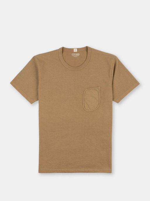 clark pocket t-shirt, khaki fog, lady white