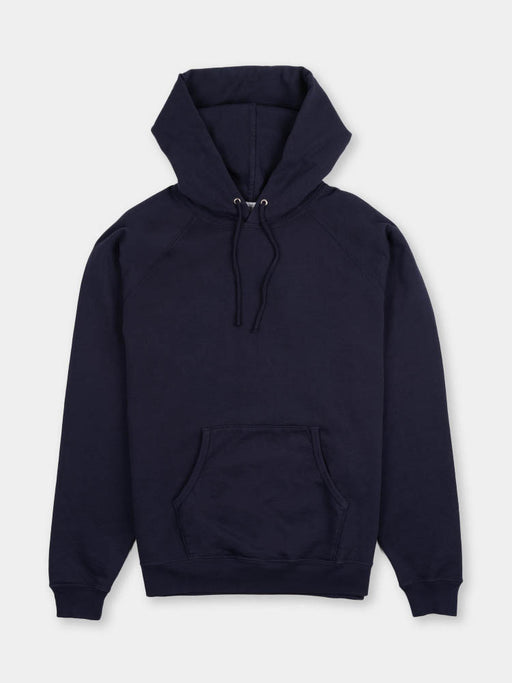 llewyn hoodie, navy, lady white co