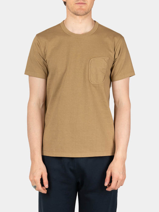 Clark Pocket T-Shirt Khaki Fog