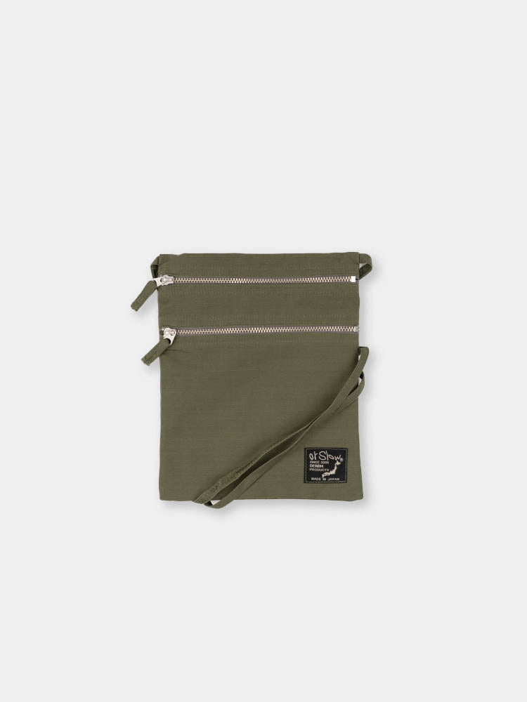 sacoche bag, army green, orslow