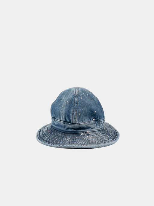 us navy hat, 2 year wash with paint, orslow