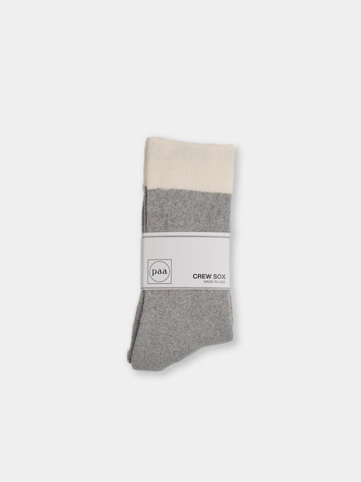 Crew Sox 2.5 Heather Grey / Ecru