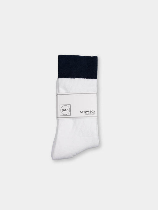 Crew Sox 2.5 White / Navy