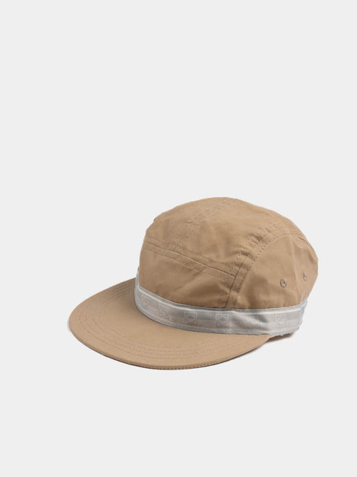 five pannel cap, khaki, paa, side view