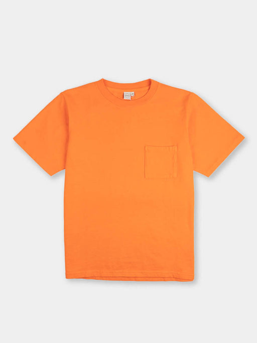 ss pocket tee, blaze orange, paa