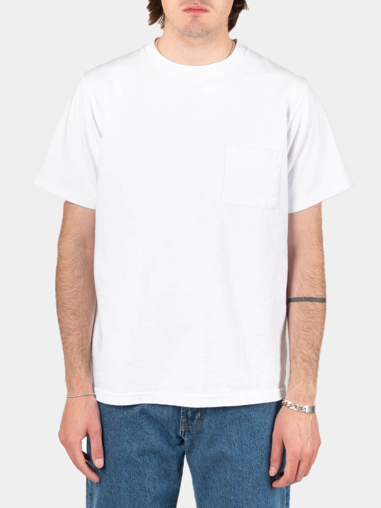 SS Pocket Tee White