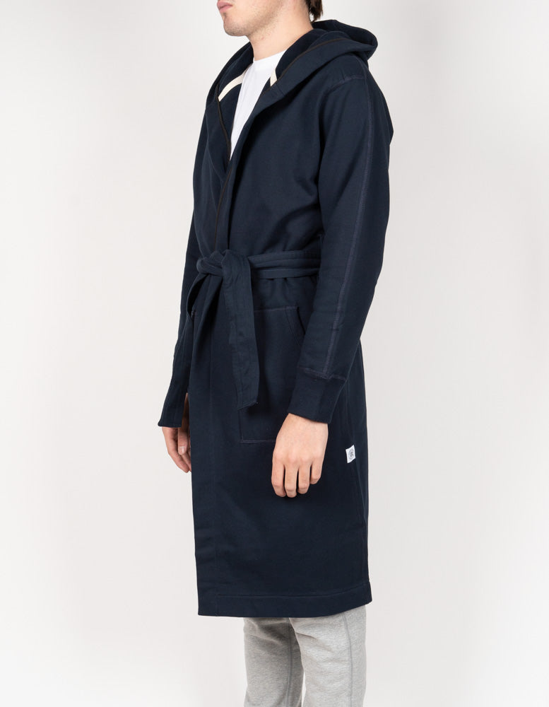 Midweight Terry Robe Navy