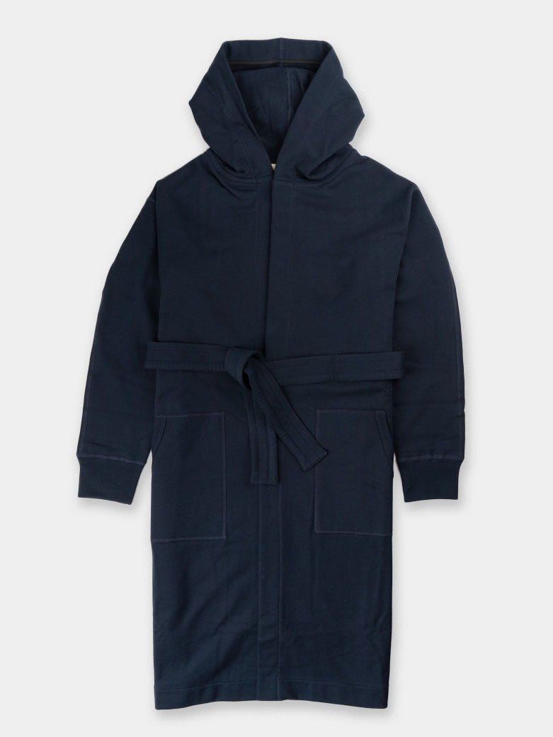 mid-weight, terry robe, mens, navy, reigning champ
