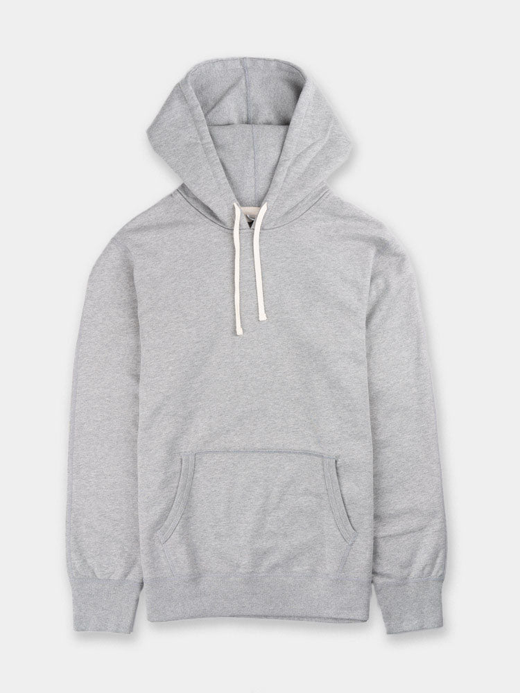 midweight, terry, pullover, long sleeve, hoodie, heather grey, reigning champ