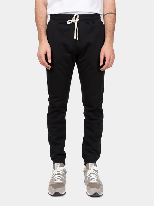 Midweight Terry Slim Sweatpant Black