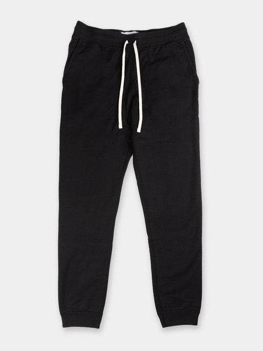 mens sweatpant, midweight terry, slim fit, black, reigning champ