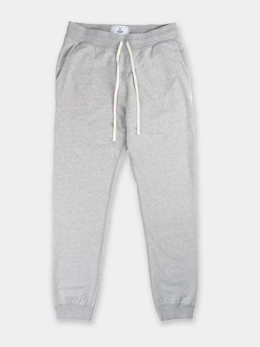 midweight terry, mens sweatpant, slim fit, grey, reigning champ