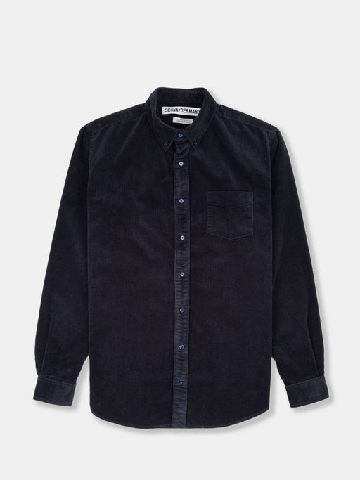 Shirt BD Cord Blue Deep Blue