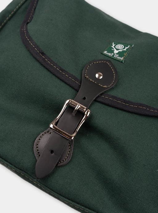 large binocular bag, hunter green, south2 west8, buckle closure