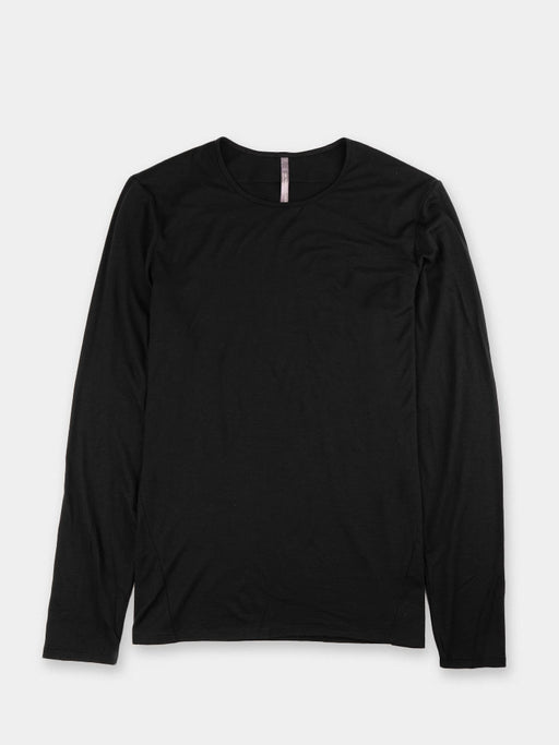 Long sleeve Frame shirt, black, veilance, front view