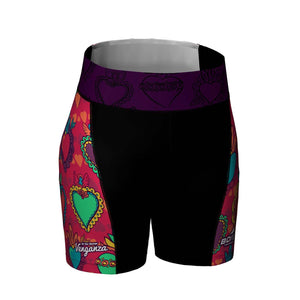 Venganza Tri Short Courageous Heart Design