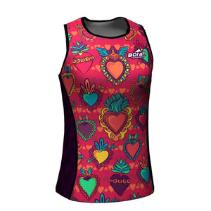 Venganza Tri Top Courageous Heart Design