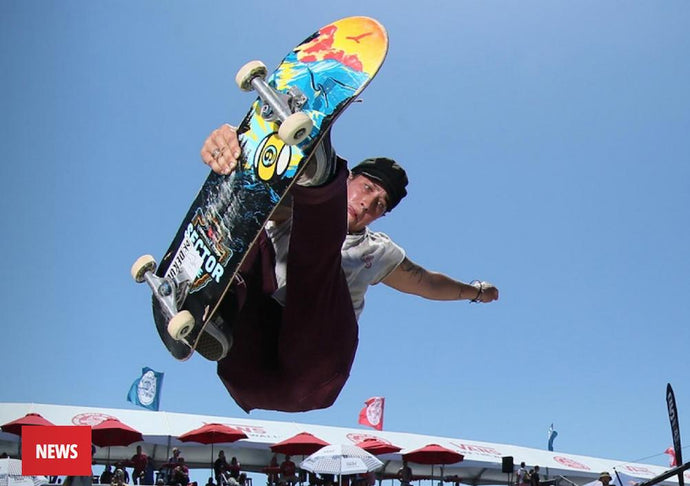 HANNA ZANZI WINS THE VANS PRO SKATE PARK SERIES INAUGURAL WOMEN'S EVENT